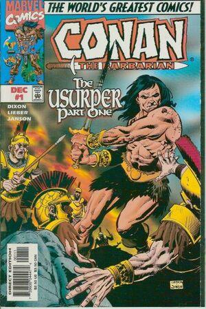 Conan the Barbarian The Usurper Vol 1 1