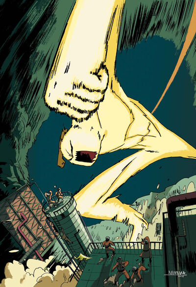 Monsters Unleashed Vol 2 1 Niimura Variant Textless