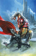 Thor God of Thunder Vol 1 7 Many Armors of Iron Man Variant Textless