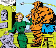 Alicia Masters (Earth-616) and Benjamin Grimm (Earth-616) from Fantastic Four Vol 1 21 001