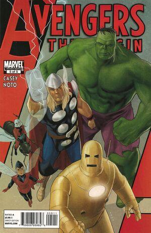 Avengers The Origin Vol 1 5