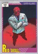 Johann Shmidt (Earth-616) from Marvel Universe Cards Series II 0001