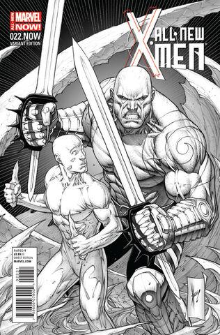 File:All-New X-Men Vol 1 22.NOW Keown Sketch Variant Textless.jpg