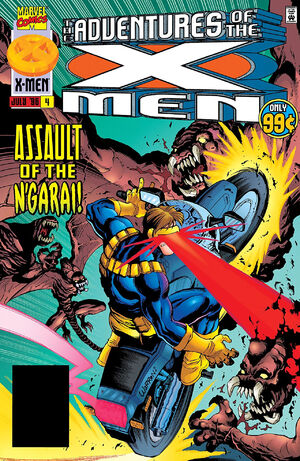 Adventures of the X-Men Vol 1 4