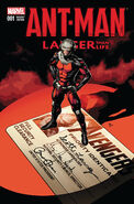 Ant-Man Larger Than Life Vol 1 1 Deodato Variant