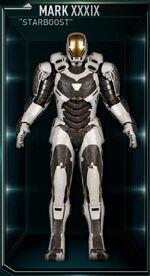 Iron Man Armor MK XXXIX (Earth-199999)
