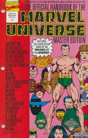 Official Handbook of the Marvel Universe Master Edition Vol 1 17