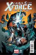 Cable and X-Force Vol 1 2 Bagley Variant