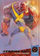 Guido Carosella (Earth-616) from Ultra X-Men (Trading Cards) 1994 Set 0001