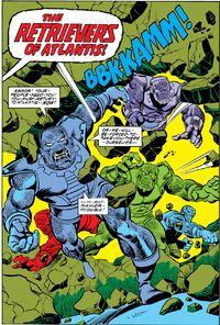 Retreivers (Earth-616) from Fantastic Four Vol 1 195