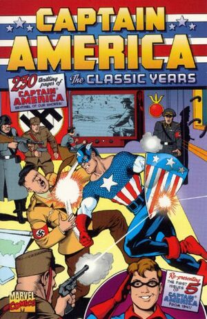 Captain America The Classic Years Vol 1 1