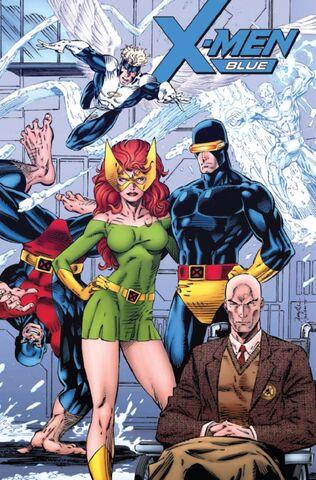 File:X-Men Blue Vol 1 1 Remastered Variant.jpg