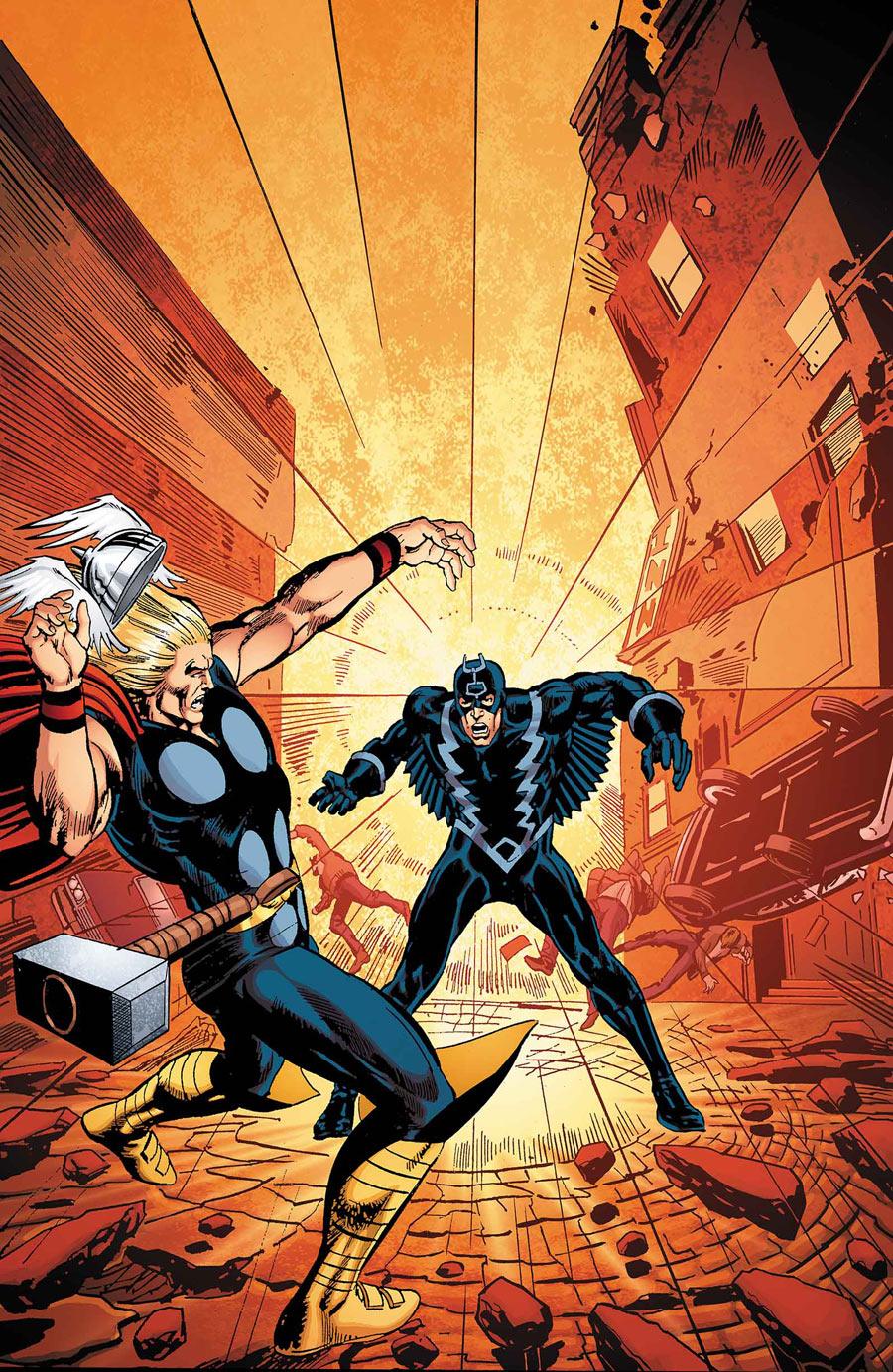Black Bolt: Something Inhuman This Way Comes Vol 1 1