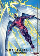 Warren Worthington III (Earth-616) from Marvel Masterpieces Trading Cards 1992 0001