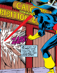 Calgary Stampede from X-Men Vol 1 122 001