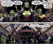 New Avengers Vol 1 40 Veranke (Earth-616) and Skrulls