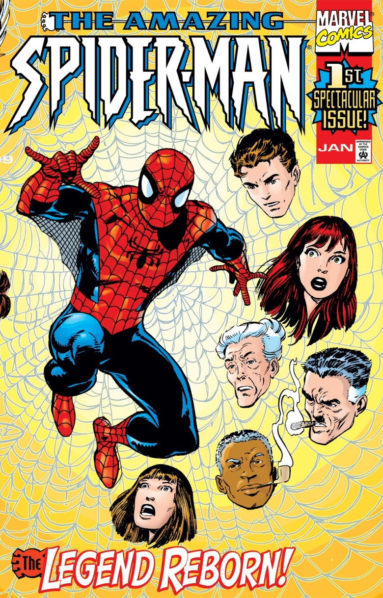 Amazing Spider Man Vol 2 1 Marvel Database Fandom