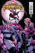 Contest of Champions Vol 1 9 Bagley Variant