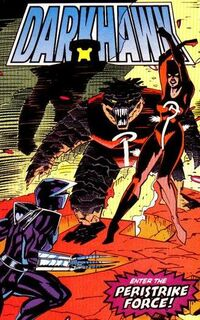 Peristrike Force (Earth-616) from Darkhawk Vol 1 16 001