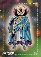 Uatu (Earth-616) from Marvel Universe Cards Series III 0001