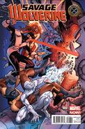 Savage Wolverine Vol 1 6 X-Men 50th Anniversary Variant
