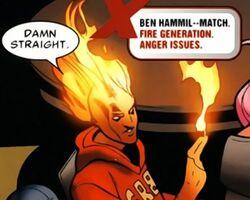 Ben Hammil (Earth-616) from Uncanny X-Men Vol 1 513 0001