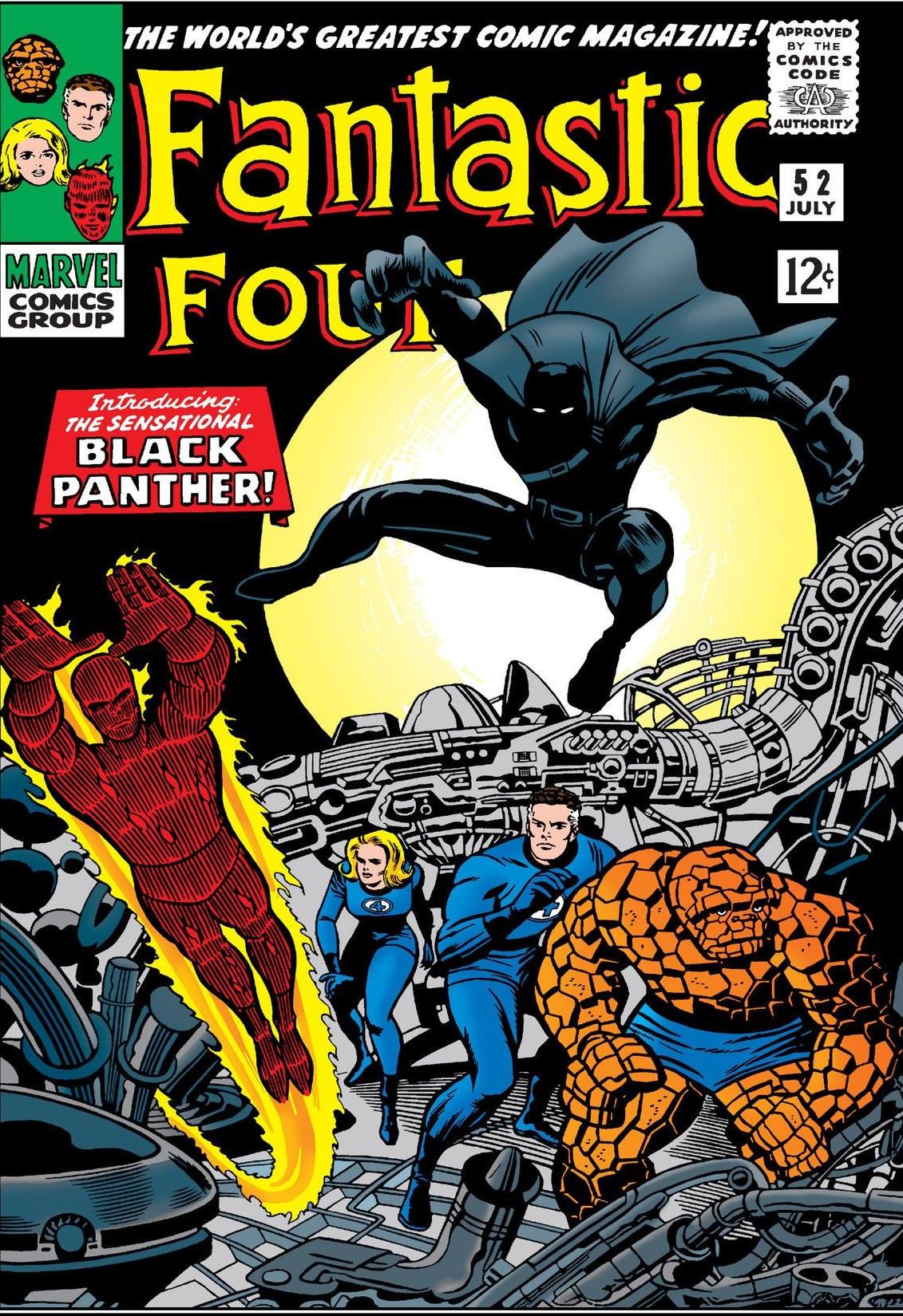 Fantastic Four Vol 1 52