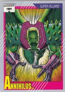 Annihilus (Earth-616) from Marvel Universe Cards Series II 0001