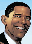 Barack Obama II (Earth-616) from Amazing Spider-Man Vol 1 583 0001