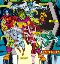 Starforce (Earth-616) from Avengers Vol 1 346 0001