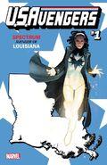 U.S.Avengers Vol 1 1 Louisiana Variant