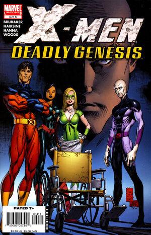 X-Men Deadly Genesis Vol 1 4