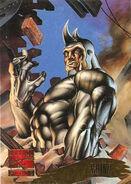 Aleksei Sytsevich (Earth-616) from Marvel Masterpieces Trading Cards 1995 Set 0001