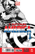 Captain America Vol 7 1 Quesada Sketch Variant