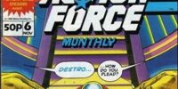 Action Force Monthly Vol 1 6
