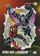 Peter Parker and Chris Powell (Earth-616) from Marvel Universe Cards Series III 0001