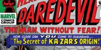 The Secret of Ka-Zar's Origin!