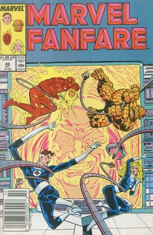 Marvel Fanfare Vol 1 46