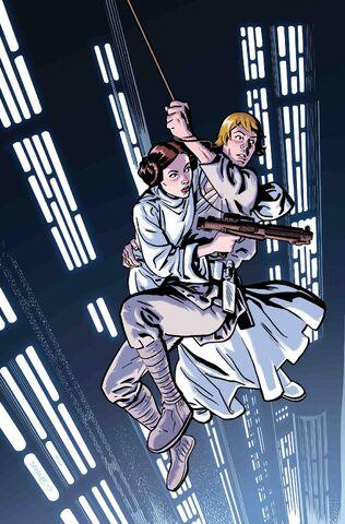 File:Star Wars Poe Dameron Vol 1 19 Star Wars 40th Anniversary Variant Textless.jpg