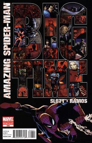 File:Amazing Spider-Man Vol 1 648 Second Printing Variant.jpg