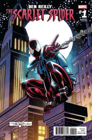 File:Ben Reilly Scarlet Spider Vol 1 1 Lyle Variant.jpg
