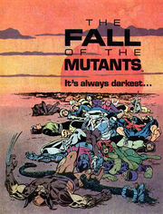 Fall of the Mutants promotional