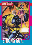 Guido Carosella (Earth-616) from X-Men Trading Cards 1992 Set 0001