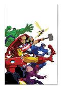 Marvel Universe Avengers - Earth's Mightiest Heroes Vol 1 1 Textless