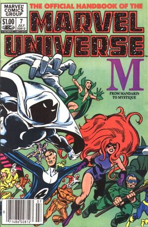 Official Handbook of the Marvel Universe Vol 1 7
