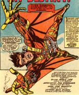Nick Fury in HAWK Harness from Strange Tales Vol 1 166