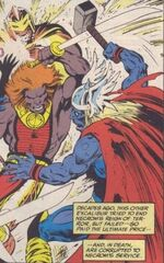 Thor Odinson (Earth-148) from Excalibur Vol 1 46