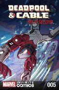 Deadpool & Cable Split Second Infinite Comic Vol 1 5