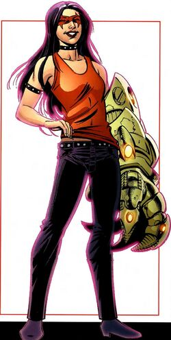 Sasha Martin (Earth-616) from All-New Official Handbook of the Marvel Universe A to Z Vol 1 10 0001