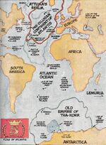 Map of Atlantis from Official Handbook of the Marvel Universe Vol 1 1 001